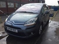 Bargain Citroen c4 Picasso, top of the range, full years MOT no advisories, automatic diesel
