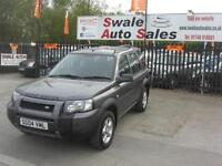 2004 LANDROVER FREELANDER SE 2.0Td4 4 WHEEL DRIVE, GREAT CONDITION