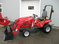 MASSEY FERGUSON 25HP TRACTOR - $0 DOWN 0 PAYMENT 0% INTEREST
