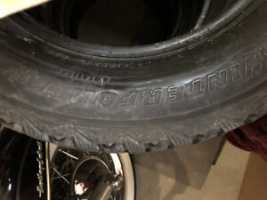 4 winterforce tires  235/65/r17