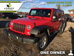 2015 Jeep Wrangler Unlimited WRANGLER UNLIMITED SPORT   - one ow