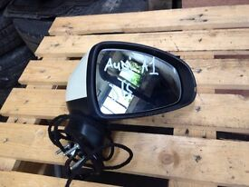 Audi a1 drivers side mirror