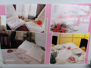 Beautiful Hand Embroidered Linens Imported from Italy-REDUCED! Kitchener / Waterloo Kitchener Area image 1