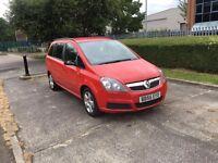 Vauxhall zafira mpv 2007 LPG/GAS 7-seater px swap wel drive away bargain