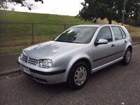 2002 VW VOLKSWAGEN GOLF SE 1.6 PETROL, MANUAL, 5-DOOR HATCHBACK***LONG MOT***DRIVES GREAT