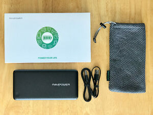 RavPower 20100mAh USB-C Powerbank battery charger