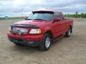 2001 Ford F150 Sport 4x4 with 5th Wheel Hitch