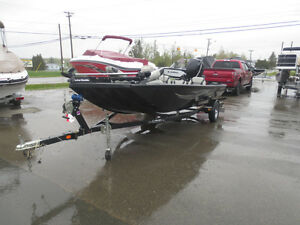 2014 Lowe stinger 175 with 75 hp Mercury