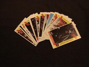 1992 BATMAN RETURNS Zellers Trading Cards Set of 24 Belleville Belleville Area image 1