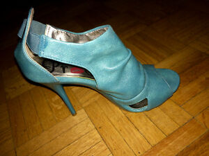 Promise Women's Heels in turquoise