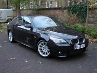 EXCELLENT SPEC!!! 2006 BMW 5 SERIES 520D M SPORT, FULL LEATHER SPORT SEATS
