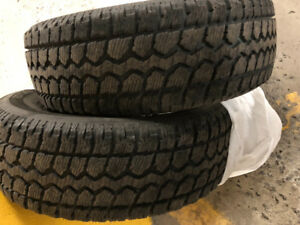 4 Winter tires 225/70 R16