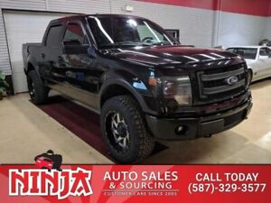 2013 Ford F-150 Fx4  The Black Beauty With 6.2 Ltr