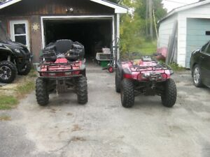 2 Honda Fourtrax
