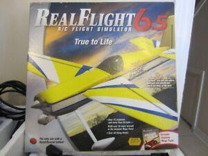 R C Flight Simulator - RealFlight 6.5 - Like New - Complete
