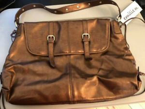 Ladies Copper Coloured Purse - NEVER USED