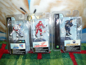 McFarlane NHL Hockey Figures $10 each.  $25 for 3.