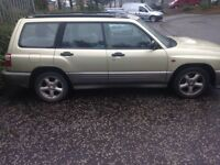 Subaru Forester spares or repair