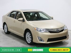 2012 Toyota Camry XLE A/C CAM DE RECUL CUIR TOIT BLUETOOTH MAGS