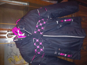 Girl big chill 2 in one winter fall jacket size 14 $10
