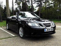 2008 SAAB 9-3 1.9 TiD 2+2 TURBO DIESEL 6 SPEED MANUAL CONVERTIBLE BLACK PX SWAP