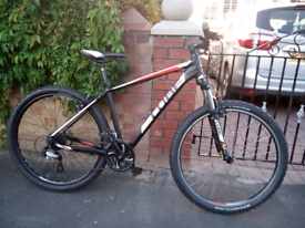 Cube Aim competition large frame mountain bike