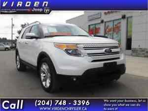 2015 Ford Explorer Limited **LEATHER SEATS!! LOCALLY OWNED!!**