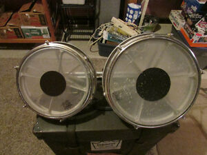 "roto-toms,10"" and 12"",good shape"