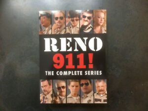 RENO 911 SEASONS 1-6 DVDS LIKE NEW