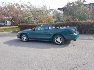 1998 Mustang Convertible