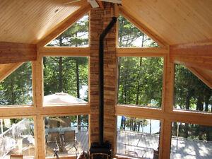 Luxury Lakefront Island cottage