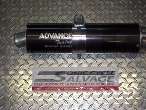 1996-2000 gsxr 600-750 advance tuning slip on pipe