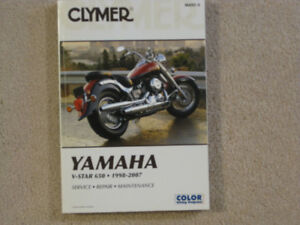 Clymer Motorcycle Service Manual
