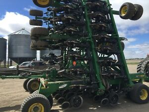 60 foot John Deere 1890 disc drill