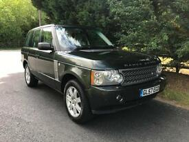 2008 LAND ROVER RANGE ROVER VOGUE 3.6 TDV8 AUTOMATIC 4X4 TURBO DIESEL