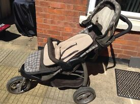 Mothercare Urban Detour 3-Wheel Stroller/Buggy/Pushchair