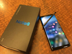 Samsung Note 8 factory unlocked