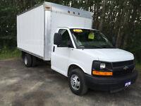 2008 Chevrolet Express 14 Ft Cube Van