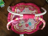 Bright starts exercise gym play mat tummy time $2 obo