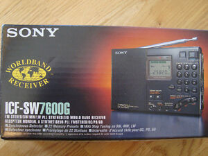 SONY ICF-SW7600g_ world band reciever
