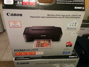 BRAND NEW Color Wireless Printer + Photo Paper + Extra Ink
