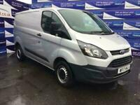 2017 Ford Transit Custom 2.0 270 LR P/V 104 BHP 1 OWNER PANEL VAN Diesel Manual