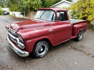 1959 GMC Pickup Truck, Similar to Chevrolet Apache