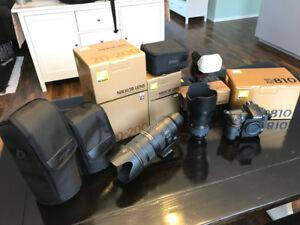 Nikon D810, 24-70 2.8, 70-200 2.8 vrII for sale