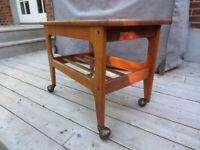 Mid Century Modern Danish Teak Side Table / Drinks Table c ...