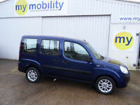 Fiat Doblo 5 Seat Wheelchair Accessible Disability Adapted Car WAV