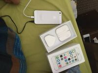 iPhone 5s 16 go sliver for sale fixed price 150