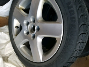 205/55/60 Winter tires w/ Alloy Rims!