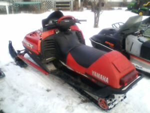 1998 YAMAHA SX600 VMAX TWIN RUNS.EX.CALL.780.240-9380