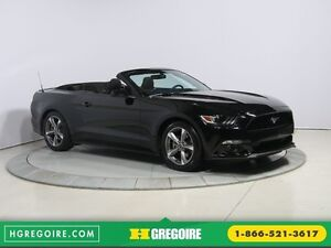 2016 Ford Mustang V6 AUTO A/C CONVERTIBLE MAGS BLUETOOTH